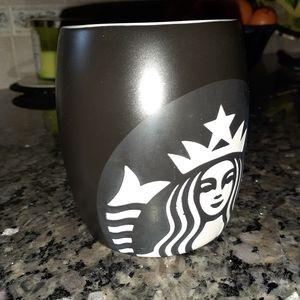 2011 Black & White Starbucks Mug